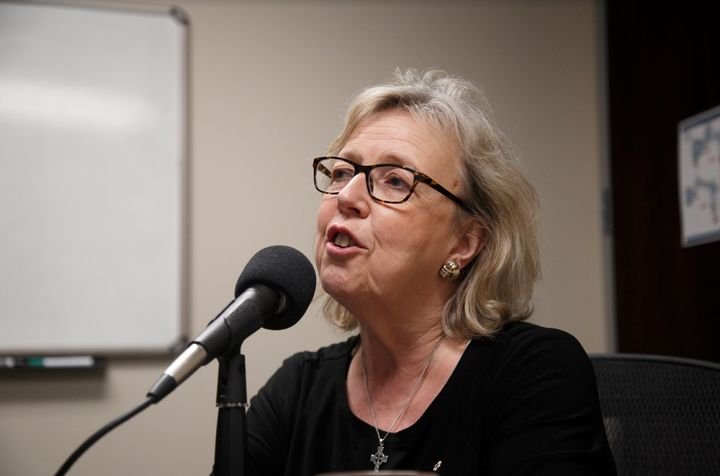 Elizabeth May sat down with HuffPost Canada to discuss the Green Party's growing momentum.