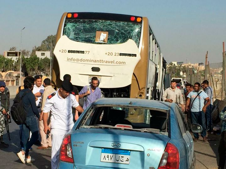 No group has immediately claimed responsibility for the attack. It is the second to target foreign tourists near the famed py