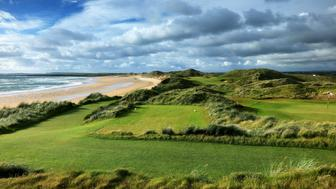DOONBEG, COUNTY CLARE - JUNE 05:  The 365 yards par 4, sixth hole at the Trump International Golf Links Doonbeg on June 5, 2017 in Doonbeg, County Clare, Ireland.  (Photo by David Cannon/Getty Images)