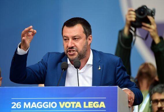 Salvini, durante un acto