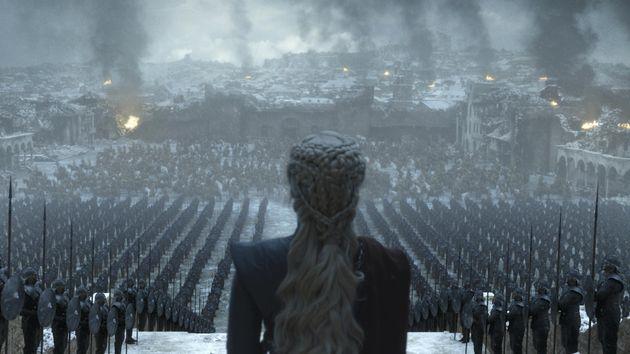 HBO가 '왕좌의 게임' 시즌 8 6화 방영 전에 공개한 단 2장의