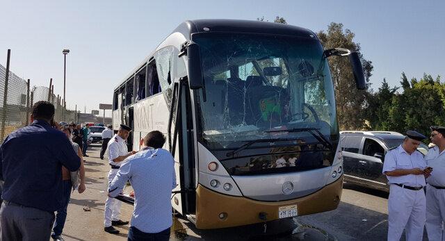 ピラミッド近くで爆発 エジプト・カイロで外国人観光客ら負傷