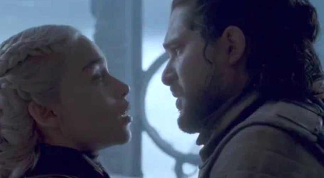 Daenerys Targaryen's Kiss With Jon ...