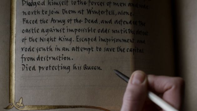 Game Of Thrones Finale: Brienne Writing Jaime Lannister's Story Inspired The Best