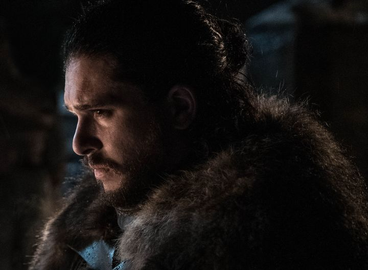 Jon Snow -- and all of us -- brooding over the series finale.