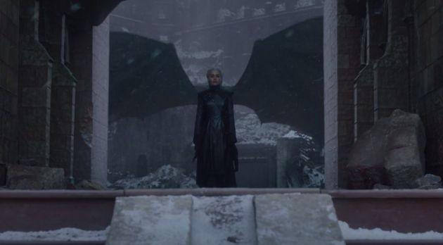 Daenerys pouvait-elle rêver un plan plus iconique pour son