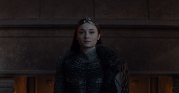 She's the queen that was promised.<br><br>Sansa (Sophie Turner) knew what she was doing when she revealed the truth about Jon