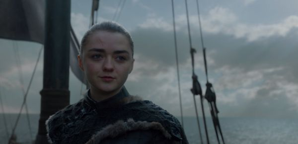 Arya's gone from an innocent girl shooting arrows to a Faceless assassin to the person who jumped off of an invisible trampol