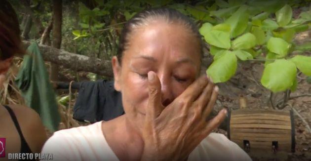 Isabel Pantoja amenaza con dejar 'Supervivientes':
