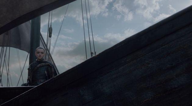 Arya Stark, Christophe Colomb version
