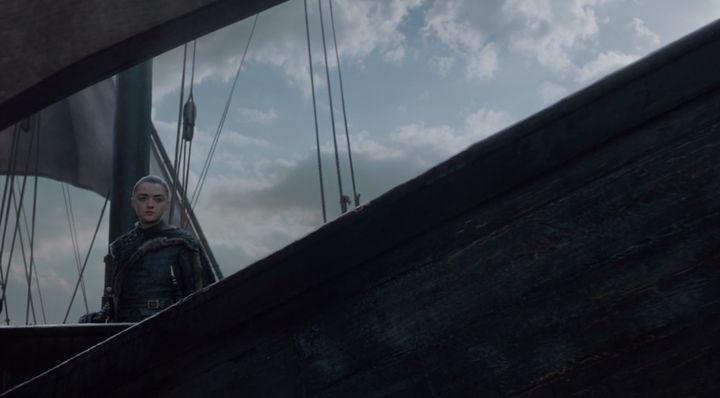 Arya Stark, Christophe Colomb version Westeros.