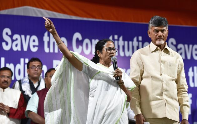 Chandrababu Naidu To Meet Mamata Banerjee Today Ahead Of 2019 Lok Sabha Election