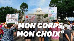 Des centaines de manifestants pour le droit à l'IVG en