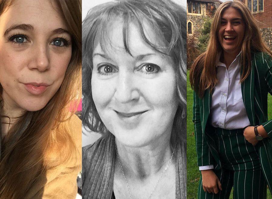 Melanie Macleod (L to R), Dawn Finch, Sophie