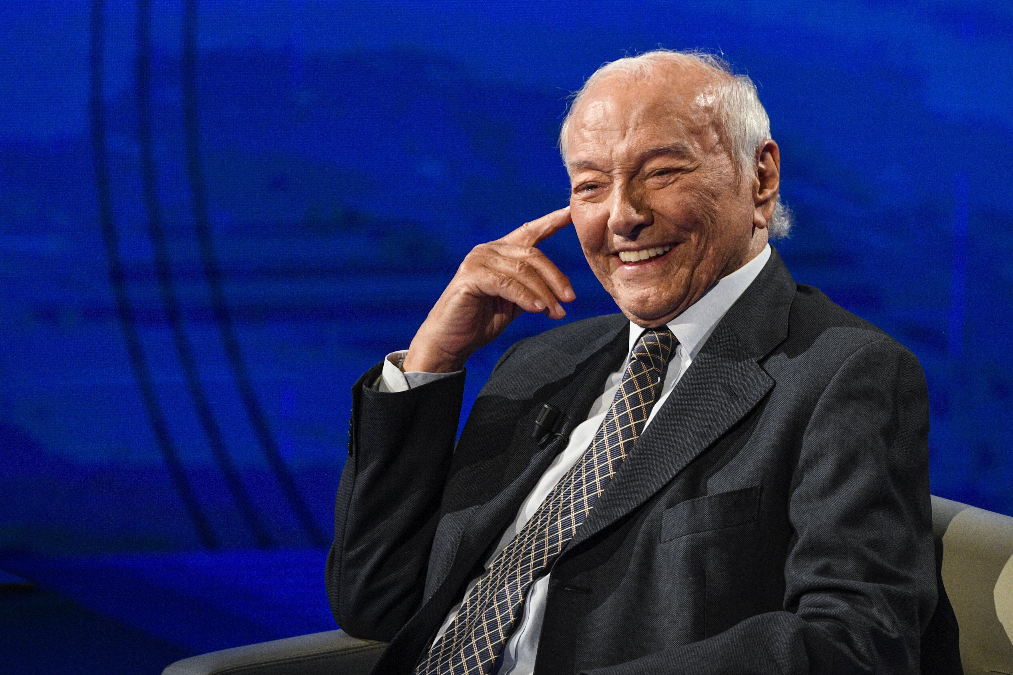"""Piero Angela: """"Calo demografico? In Italia un pensionat"""