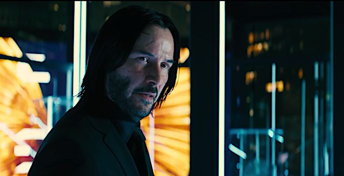 John Wick 3 debuted at the top of the box office.
