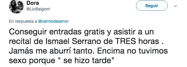 Más de 11.000 'me gusta': Ismael Serrano conquista Twitter con su inesperada respuesta a este