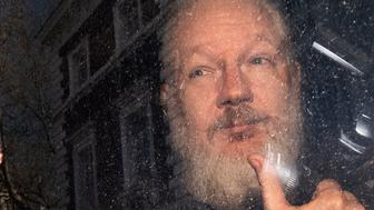 File photo dated 11/04/19 of Julian Assange. Swedish prosecutors have submitted an application for a detention order against the WikiLeaks founder.