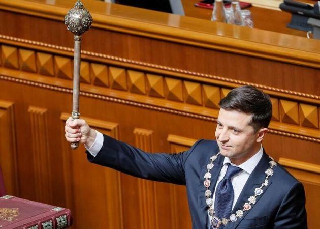 Ο νέος Πρόεδρος της Ουκρανίας διέλυσε το