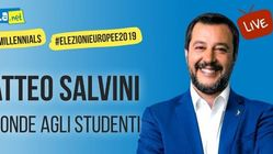 #MeetMillennials: Matteo Salvini risponde agli studenti su