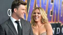 Scarlett Johansson et Colin Jost annoncent leur