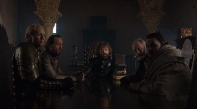 Le nouveau conseil restreint du Roi Bran et de sa main