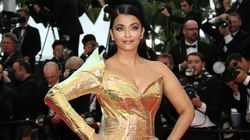 Aishwarya Rai Bachchan Turns Into Metallic Mermaid For Cannes Red