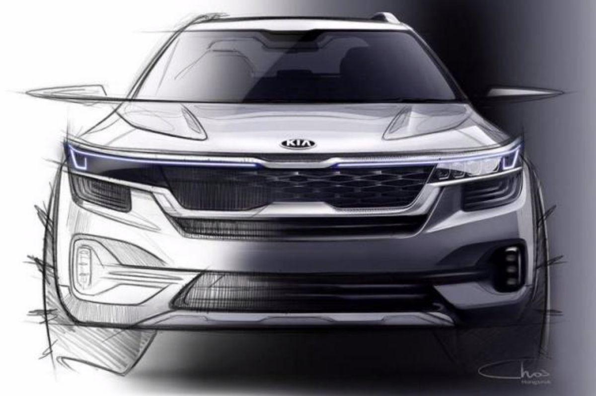 Kia 釋出全新小型跨界 SUV 的設計草圖,將於今年正式發表。