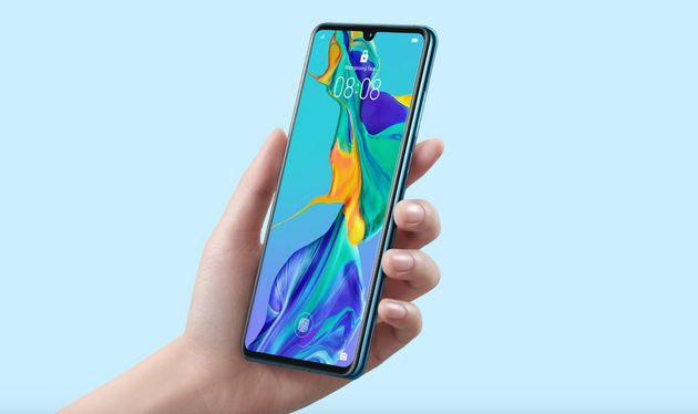 Popular Huawei phones include the P30