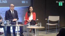 La presentación a Díaz Ayuso en el debate de Prisa tras borrarse a última