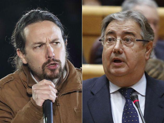 El intenso enfrentamiento entre Iglesias y Zoido en Twitter por las donaciones de Amancio