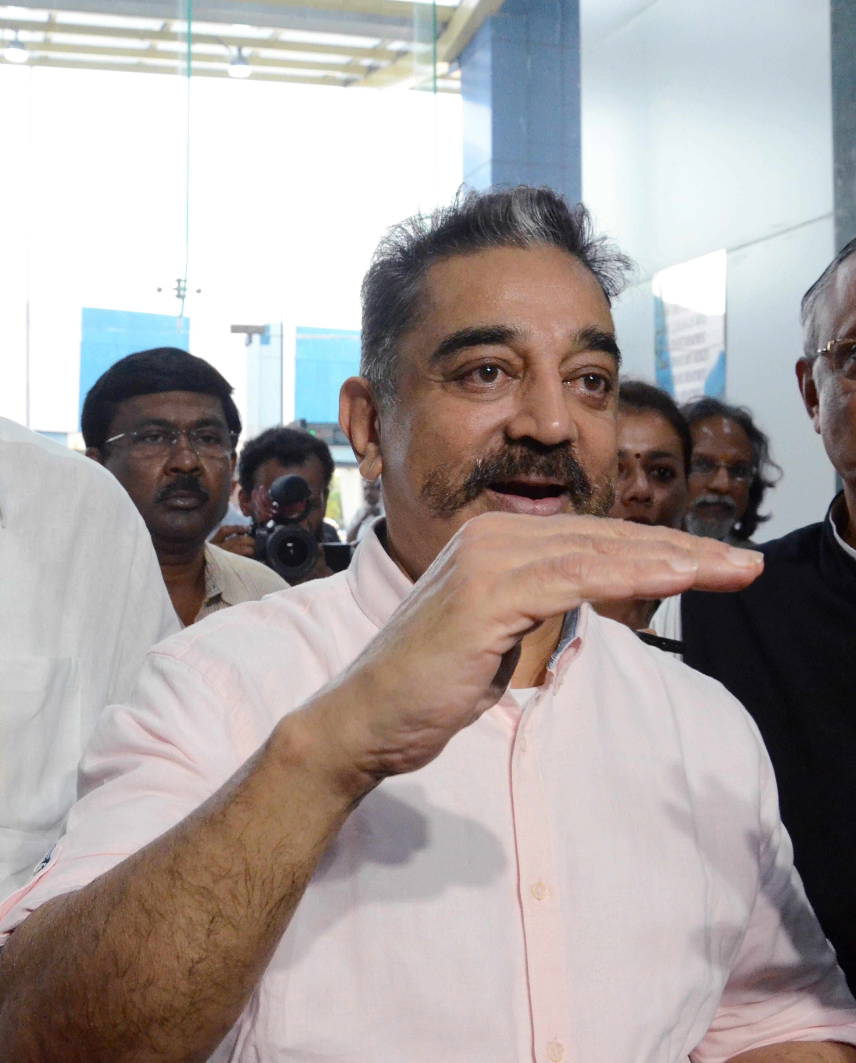 Madras HC Raps Kamal Haasan Over Nathuram Godse Remark, Grants Anticipatory