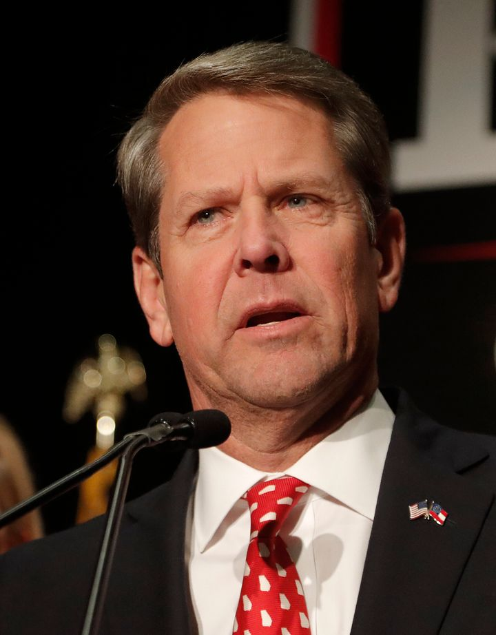 Georgia Gov. Brian Kemp earlier this month signed the anti-abortion bill into law. It takes effect in January.