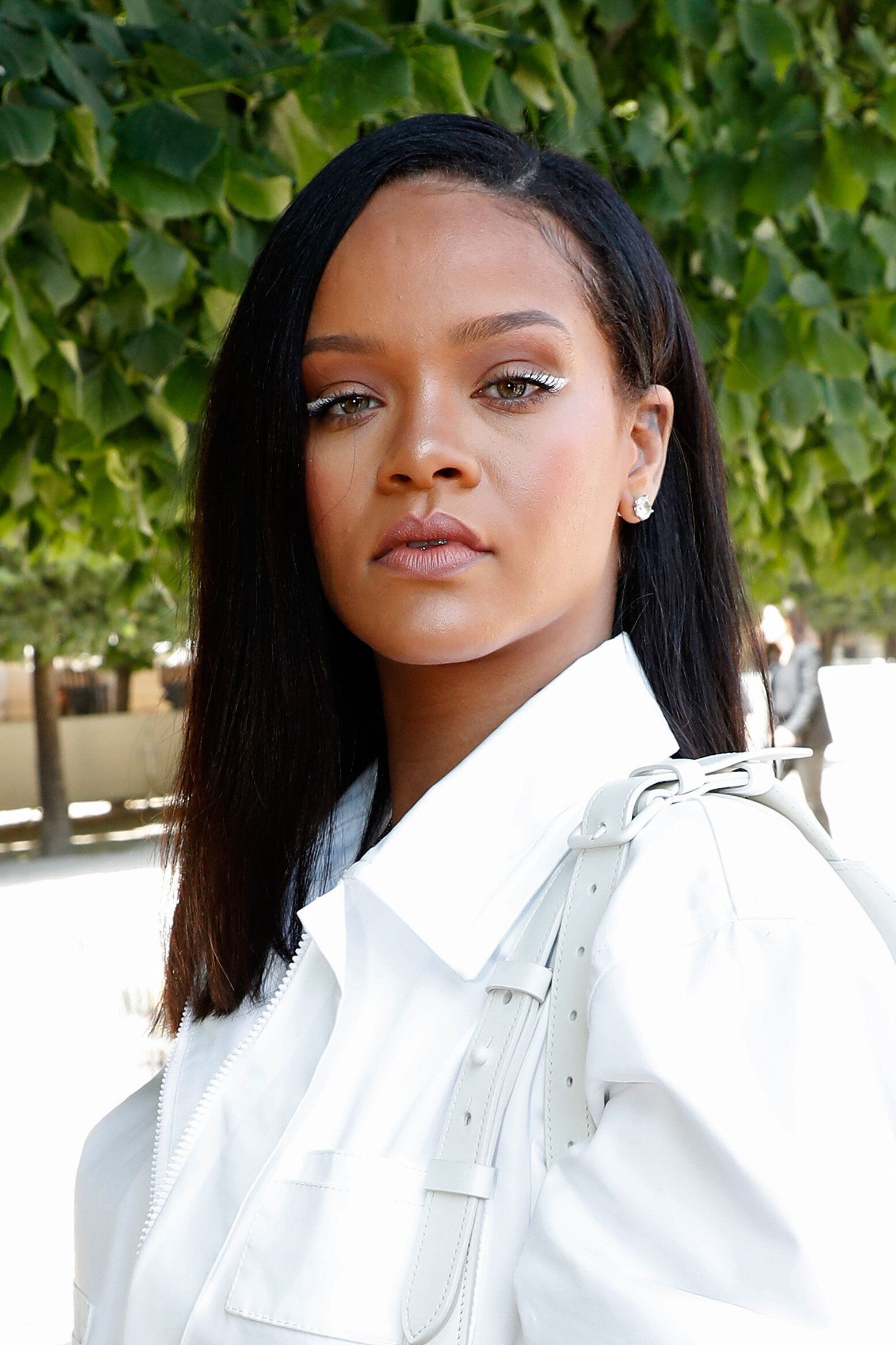 PARIS, FRANCE - JUNE 21:  Singer Rihanna attends the Louis Vuitton Menswear Spring/Summer 2019 show as part of Paris Fashion Week on June 21, 2018 in Paris, France.  (Photo by Bertrand Rindoff Petroff/Getty Images)