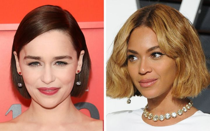 Emilia Clarke and Beyoncé