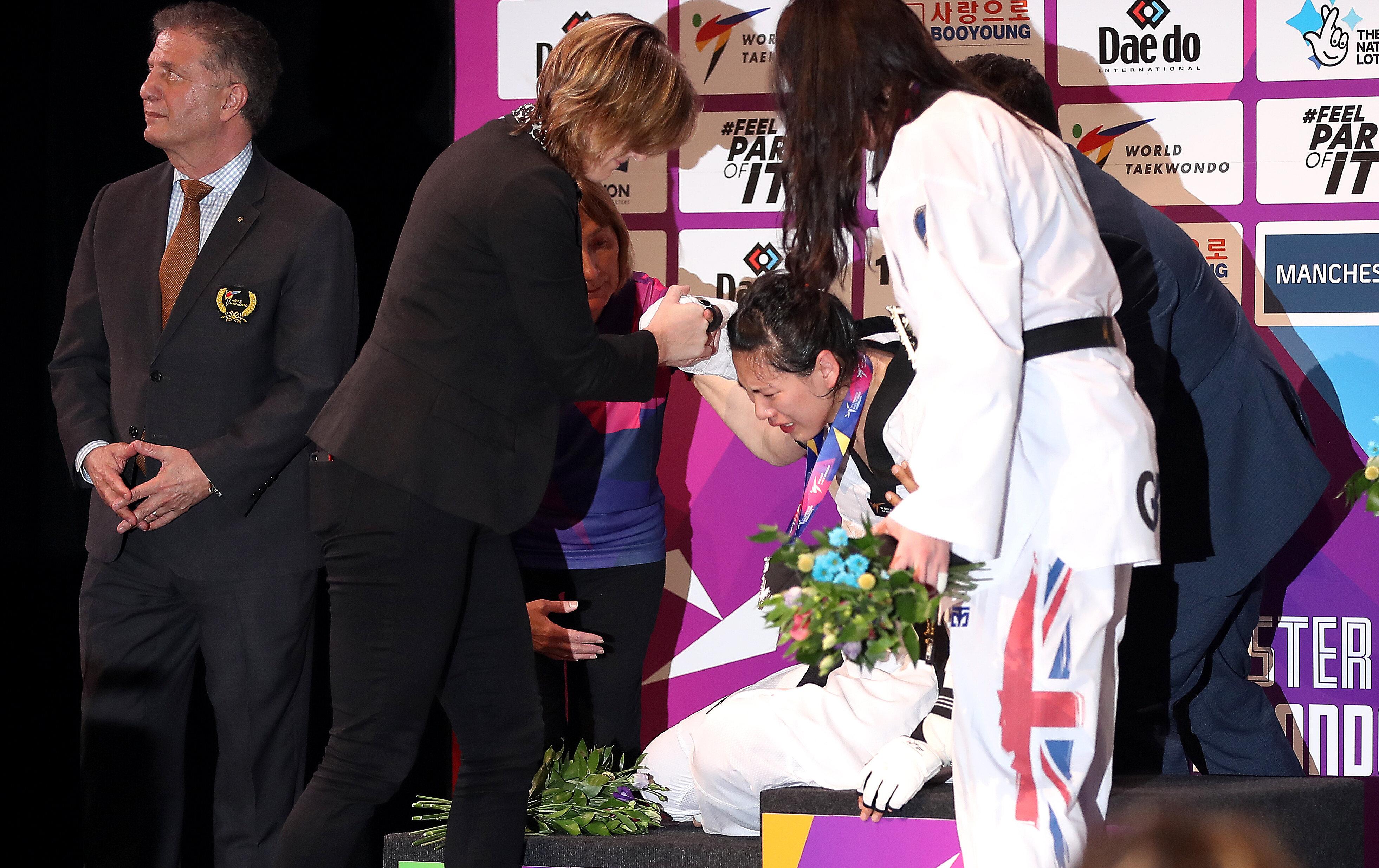 Mondiaux de taekwondo: Un entraîneur chinois veut