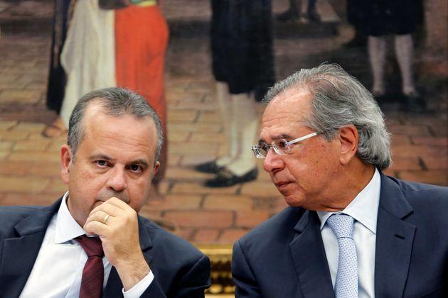 O secretário especial da Previdência do Ministério da Economia, Rogério Marinho,...