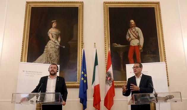 Salvini sta con Strache: alleanza con Fpo rimane solida