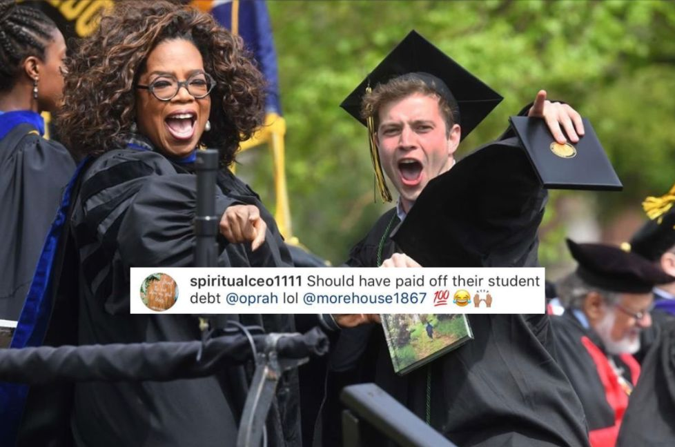 Oprah Schools Instagram Hater With Receipts After Student Loan Diss
