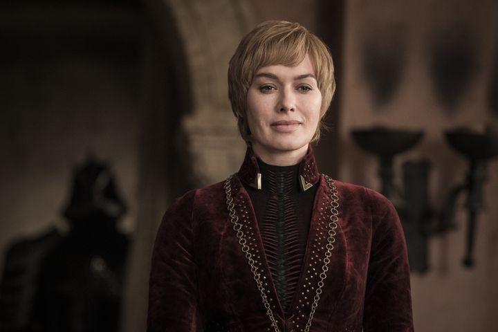 Cersei, looking Cersei-ish.