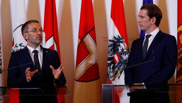Αυστρία: Ο Κουρτς αποπέμπει τον υπουργό Εσωτερικών μετά το σκάνδαλο