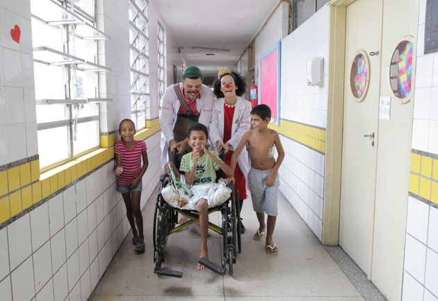 Ala pediátrica do Hospital da Restauração, em