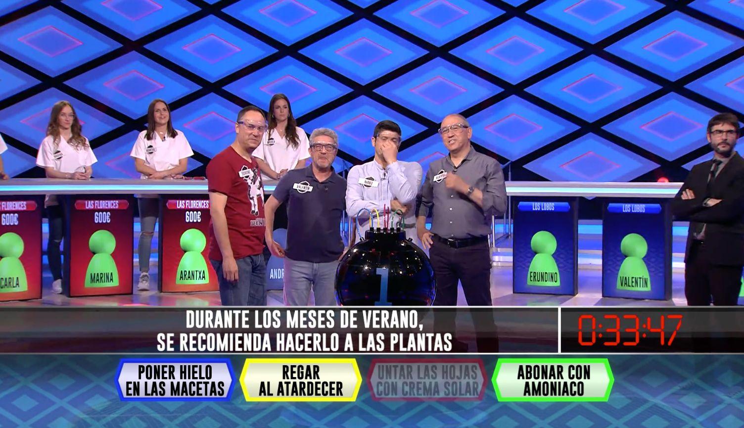 'Los Lobos' se enfrentan en 'Boom' (Antena 3) a la pregunta más obvia que se