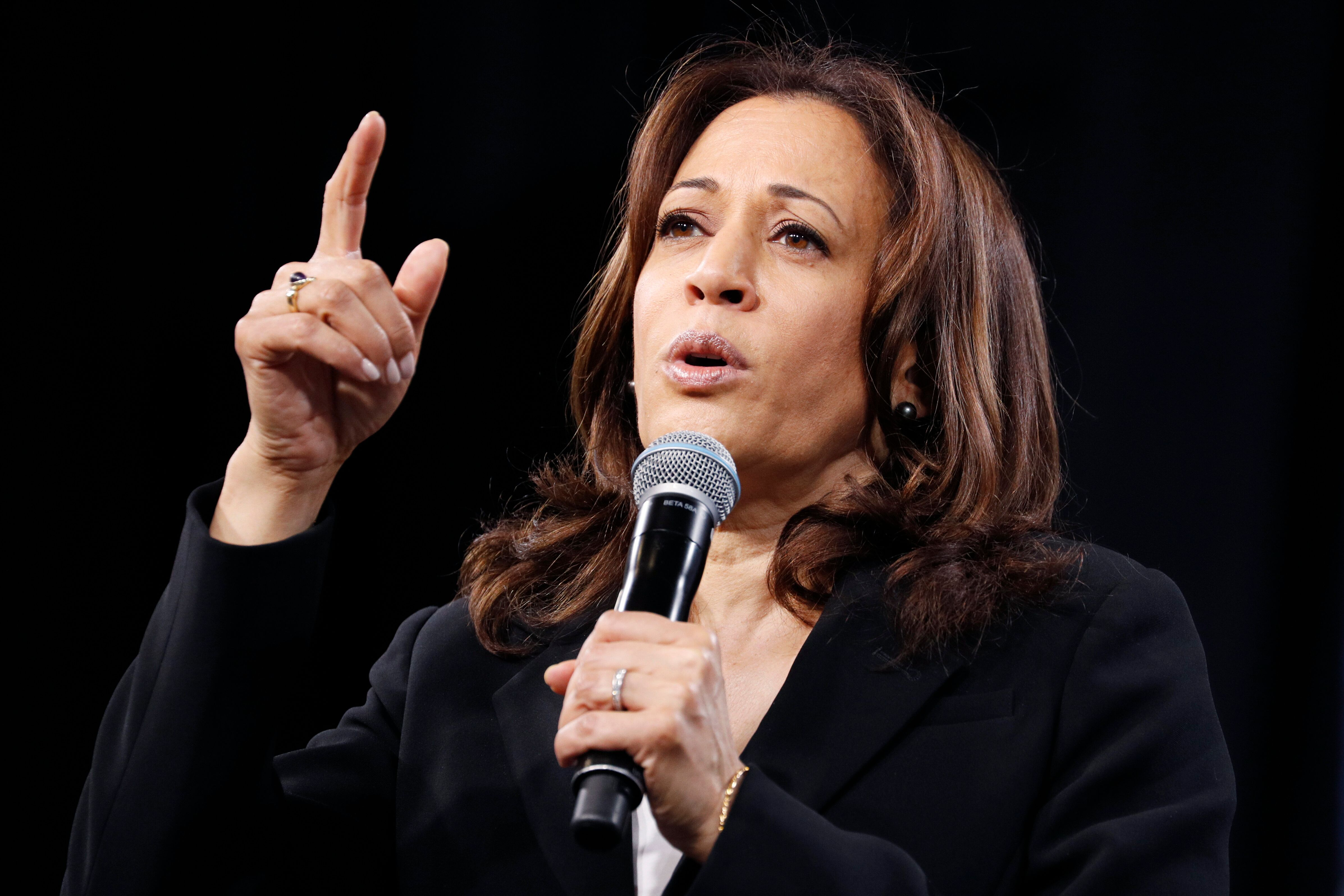 Harris Offers Sweeping Plan To Dock Companies That Don't Pay Women Equally