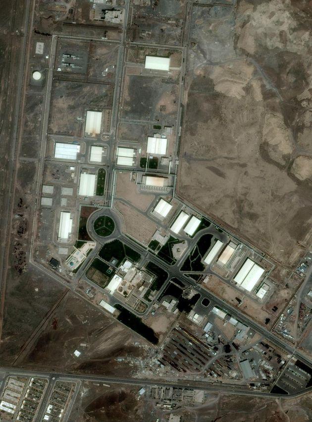 La planta de Natanz, en un imagen de