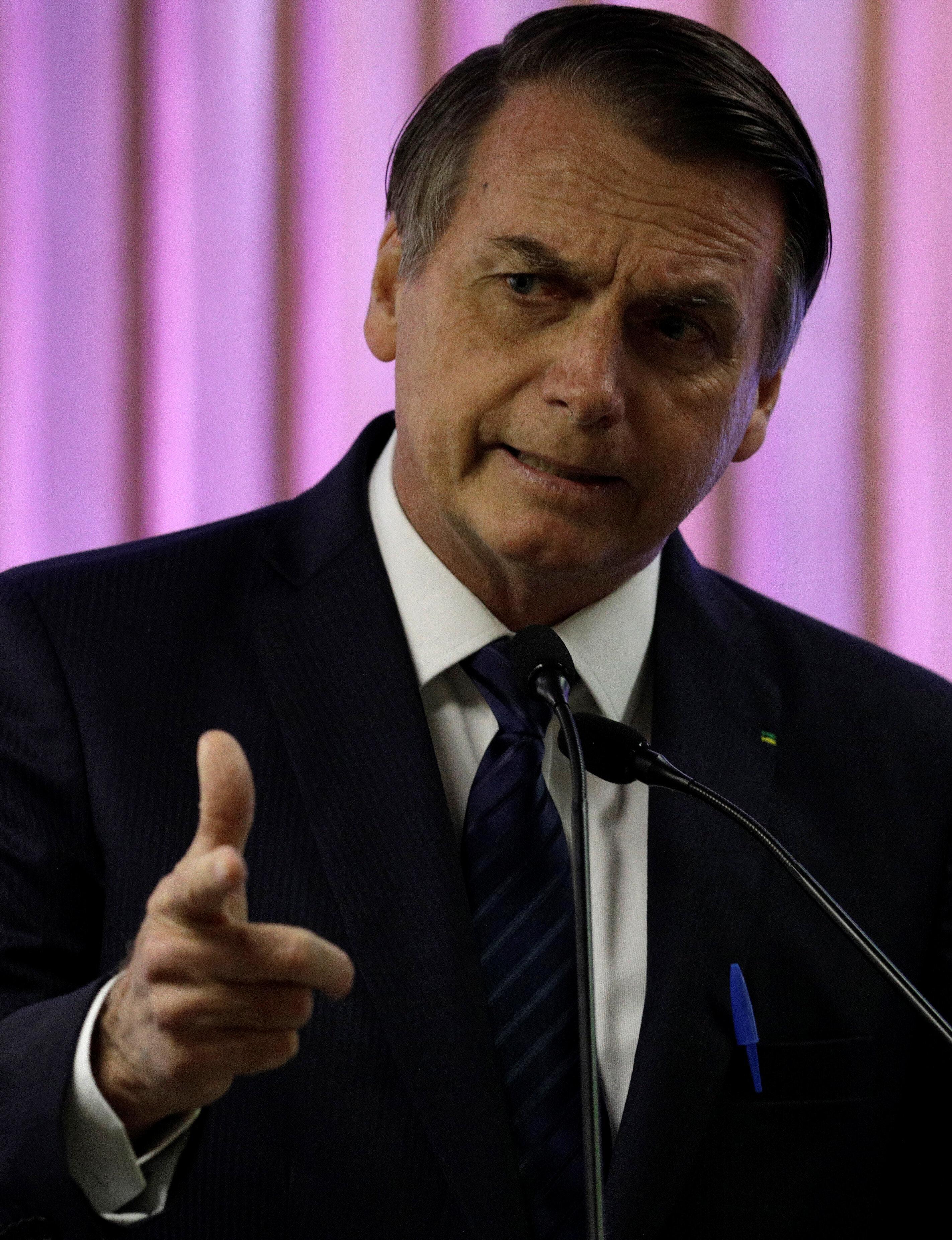 Para Bolsonaro, 'o problema é a classe política' do Brasil, que não quer 'apenas