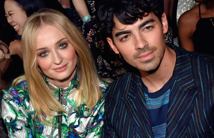 Sophie Turner and Joe Jonas at the 2019 Billboard Music Awards right before they got married.