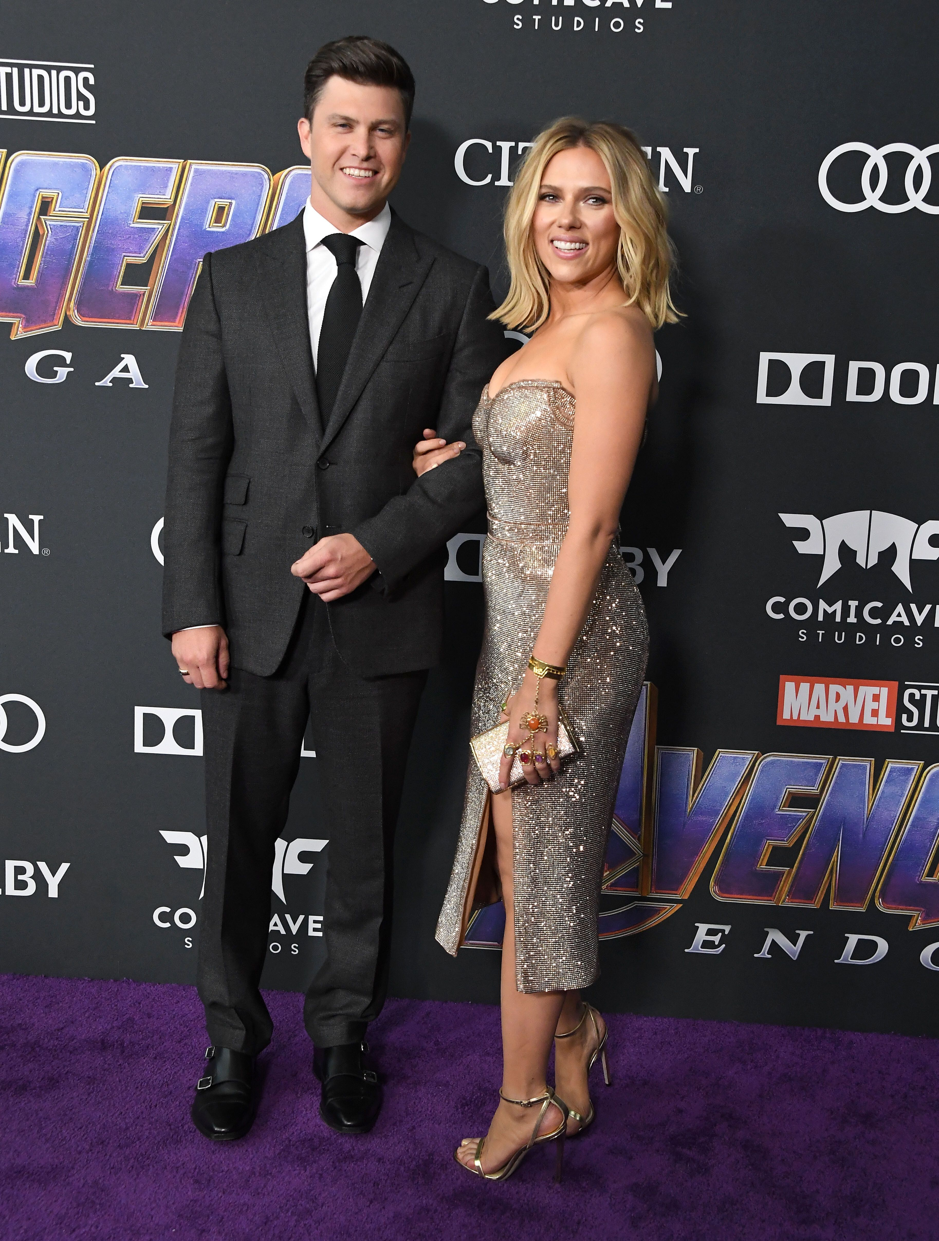 Scarlett Johansson et Colin Jost sont