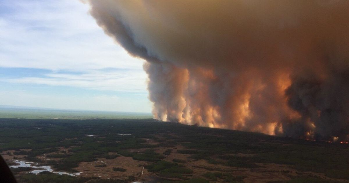 High Level, Alberta, Wildfire Prompts Evacuation Order