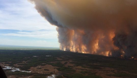 Alberta Wildfire Forces Thousands To Flee As More Winds Are